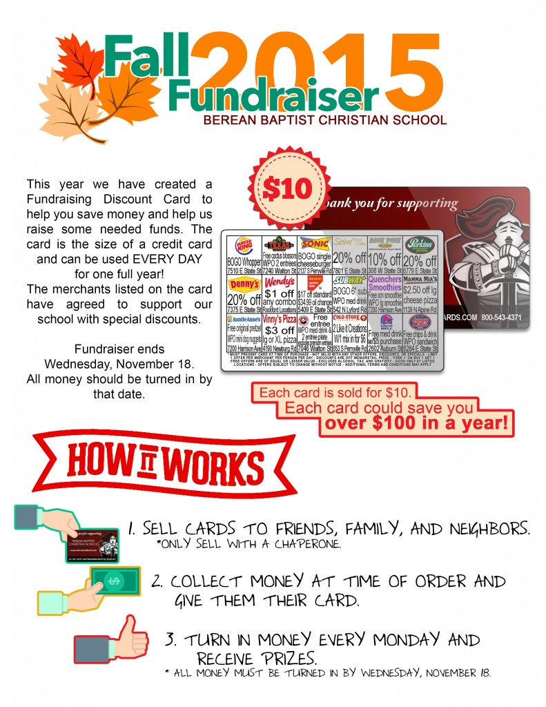 Spring Fundraiser How it works