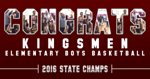 Elementary Basketball State Champs2016
