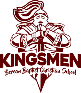 Berean Baptist Christian School Kingsmen Logo