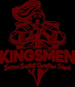 Berean Baptist Christian School Kingsmen Logo