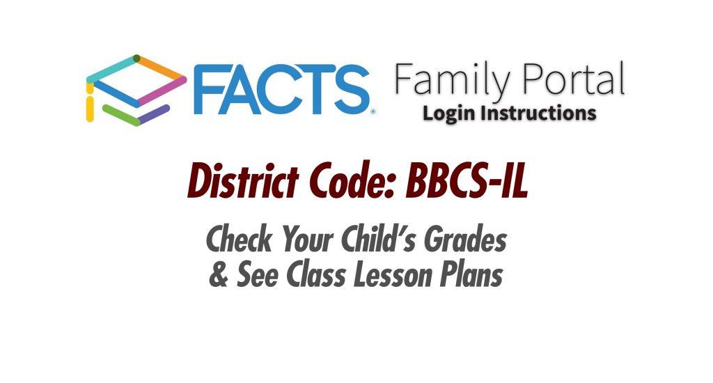 Facts Family Portal Login Instructions Berean Baptist Christian School